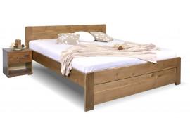 Dvoulůžková postel Mark, 160x200, 180x200, masiv smrk