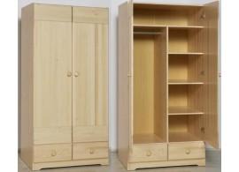Rozkládací poschoďová postel s přistýlkou a úložným prostorem MAXMILIÁN