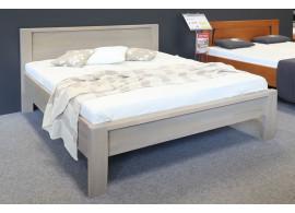 Masivní postel ERIKA senior, 180x200, jádrový masiv buk cink, VÝPRODEJ Z EXPOZICE