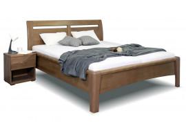 Zvýšená postel dvoulůžko z masivu CONSTANTA, masiv buk