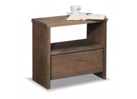 Noční stolek CAMPUS, masiv buk
