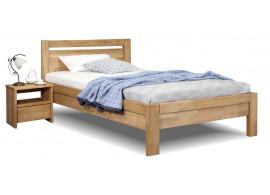Zvýšená postel z masivu Klementin, 120x200, masiv buk