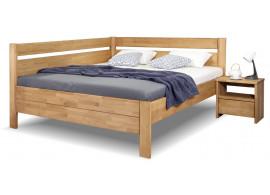 Zvýšená postel z masivu Academia, masiv buk
