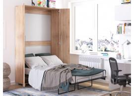 Sklápěcí postel ve skříni Terry 120x200