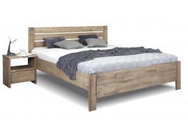 Zvýšená postel z masivu Mistral, masiv buk