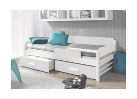 Dětská postel s úložným prostorem TEO, masiv borovice