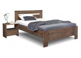 Zvýšená postel z masivu Trinity, 140x200, masiv dub