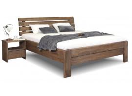 Zvýšená postel z masivu Odysea, masiv dub