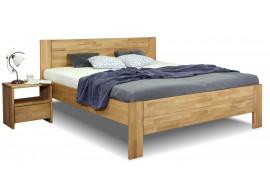 Zvýšená postel z masivu Trinity 2, masiv buk