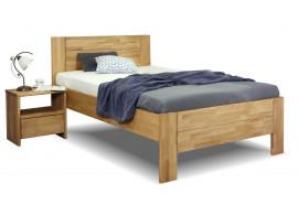Zvýšená postel z masivu Trinity 2, 80x200, 90x200, masiv buk