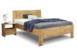 Zvýšená postel z masivu Trinity 2, 140x200, masiv buk