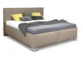 Čalouněná postel s úložným prostorem BELARONA