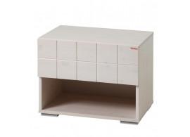 Noční stolek HANNY C0561, smrk - bílá