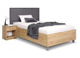 Čalouněná postel La Finesa, s úložným prostorem, 120x200 cm