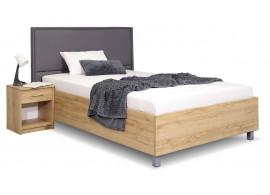 Čalouněná postel La Finesa, s úložným prostorem, 140x200 cm