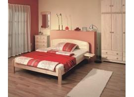 Manželská postel z masivu BERGHEN 604N, 180x200, masiv smrk