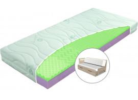 Matrace Veneza - sada na rozkládací postel, 90x200, 2x45x200 (půlená)