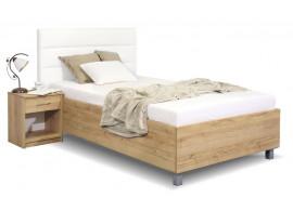 Čalouněná postel La Futura, s úložným prostorem, 90x200 cm
