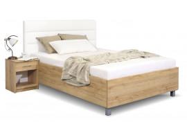 Čalouněná postel La Futura, s úložným prostorem, 140x200 cm