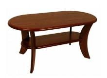 Konferenční stolek oválný 125x65 - KR52, lamino