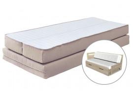 Matrace Remira - sada na rozkládací postel, 80x200, 2x40x200 (půlená)