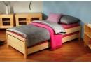 Rozkládací postel KONNY 90x200, masiv smrk