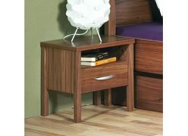 Noční stolek SARAH 10, dýha ořech