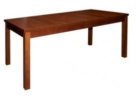 Rozkládací jídelní stůl Bohumil, masiv/lamino, 180x90 cm