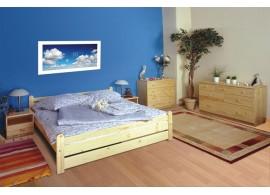 Čalouněná postel s úložným prostorem INEZ 90x200