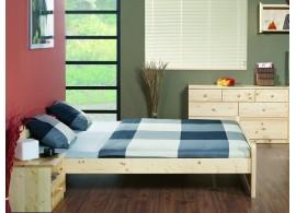 Čalouněná postel s úložným prostorem CARMEN 90x200