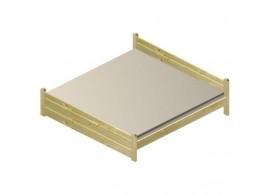 Čalouněná postel s úložným prostorem CLIP 90x200