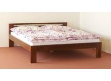 Manželská postel, dvoulůžko DUO-14, masiv BUK