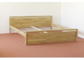 Úložný prostor 3/4 pod postel z masivu H-056S, smrk