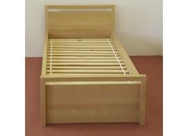Úložný prostor 3/4 pod postel z masivu H-056B, buk