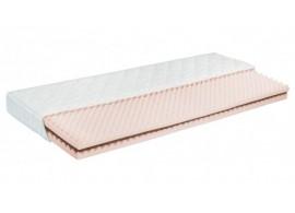 Zvýšená postel s úložným prostorem VALENCIA senior, boční výklop, kaštan