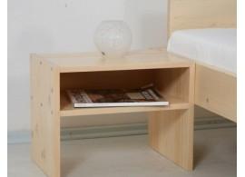 Noční stolek Relax demont č.209/S - masiv smrk