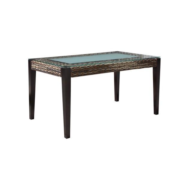 Skleněný jídelní stůl 140x80 cm - SR401