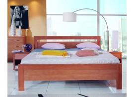Zvýšené jednolůžko - dětská zvýšená postel 90x200 Lucas H-101B, masiv buk