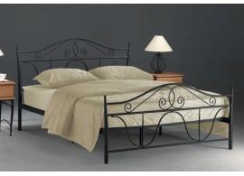 Manželská kovová postel DENVER 160x200