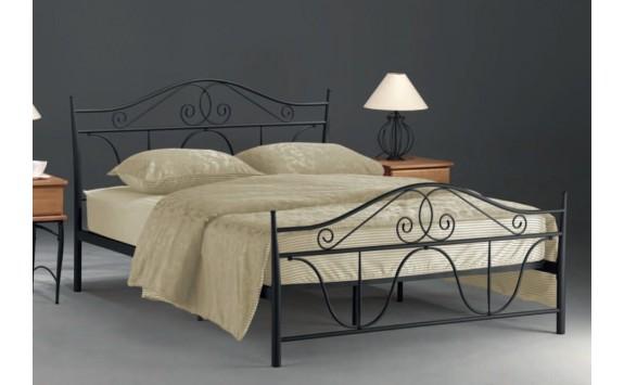 ca20f5245125 Manželská kovová postel DENVER 160x200 - Nábytek INTENA