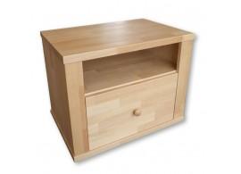 Noční stolek ALEX, masiv buk