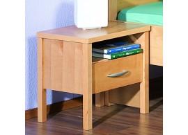 Noční stolek SARAH 10, dýha olše