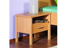 Noční stolek SARAH 10, dýha buk