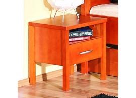 Noční stolek SARAH 10, dýha buk - třešeň
