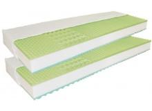 Matrace 1+1 zdarma GREEN VISCO 90x200, líná pěna + studená BIO pěna