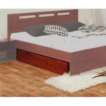 Úložný prostor pod postele 229-BC Kaštan, masiv buk