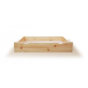 Úložný prostor pod postele poloviční N-98, masiv borovice
