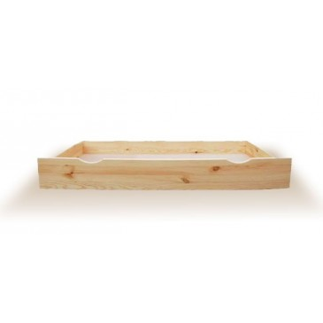 Úložný prostor pod postele třičtvrteční N-150, masiv borovice