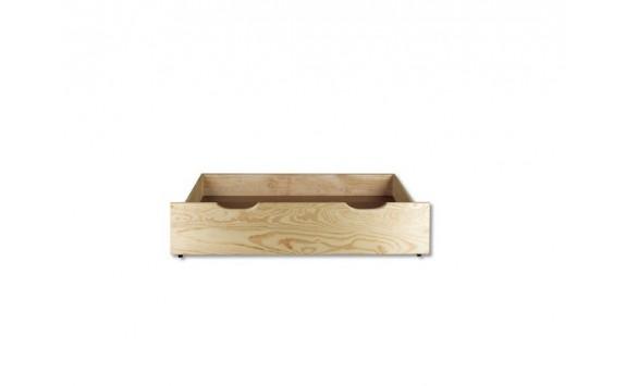 Úložný prostor pod postele DREW-150, masiv borovice