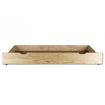 Úložný prostor pod postele DREW-152, masiv borovice
